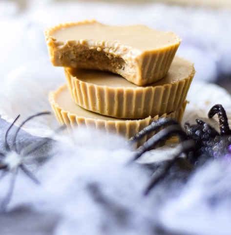 image of almond butter cups